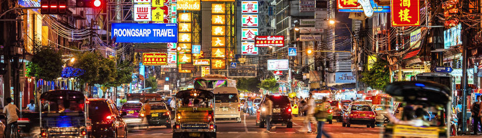 myBangkokDriver – Street-Food-Tour durch Chinatown mit Tuk-Tuk - mit Guide in Deutsch